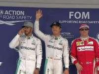 F1日本站排位赛:前三车手亮相接受媒体拍照