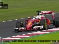 F1日本站正赛:维特尔TR报告汉密尔顿正在离他远去