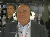 老佩大师?F1墨西哥站FP1:佩雷兹父亲来到现场