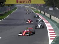 F1墨西哥站正赛:安全车回场比赛重新开始
