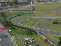 F1巴西站正赛:维斯塔潘报告积水很多