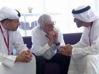 F1阿布扎比站FP3 伯尼与中东土豪谈F1