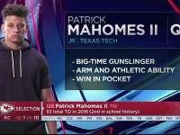 NFL2017选秀大会第10顺位 帕特里克-马霍莫斯(酋长)