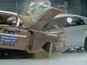 50年前的汽车与现在的汽车互撞测试!