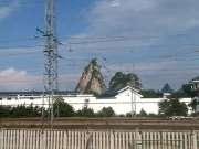 动车外的广西柳州,柳州的山真有特色