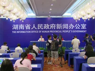 2017年上半年湖南国家统计调查数据新闻发布会