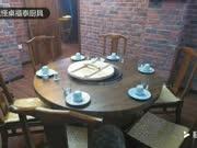 福泰厨具,铁锅炖转桌,铁锅炖桌子,铁锅炖一体桌,铁锅炖灶台3