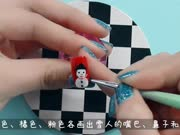 上海荟艺学院:圣诞美甲-雪人 化妆教程