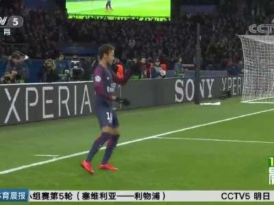 [视频]7-1!恐怖巴黎圣日耳曼豪取5连胜
