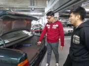 修复一辆1995年的宝马E34,合法上路的北京仅存不过10辆