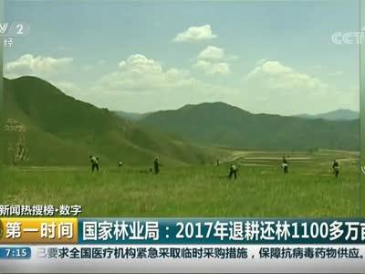[视频]国家林业局:2017年退耕还林1100多万亩