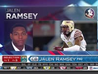 NFL选秀大会第5顺位 杰伦-拉姆塞 (美洲虎)