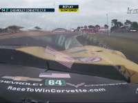 黄旗!勒芒24小时耐力赛 64号赛车撞后续加回放