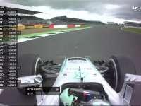F1英国站FP1 罗斯博格报告ERS出现问题