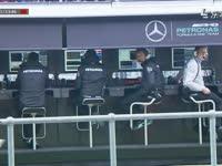 这很英国!F1英国站FP3:红旗修护墙时又下雨了