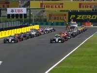 F1匈牙利站正赛发车时刻:梅奔险些被超