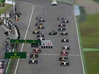 F1德国站正赛:罗斯伯格糟糕起跑掉到第四