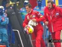 F1比利时站经典:1998年暴怒的舒马赫