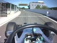 F1比利时站FP1:罗斯伯格搭载Halo测试车载