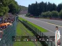 字幕条有点帅!F1比利时站排位赛:奥康信息条霸气出镜