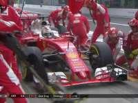 F1意大利站正赛:维特尔第二停又慢了