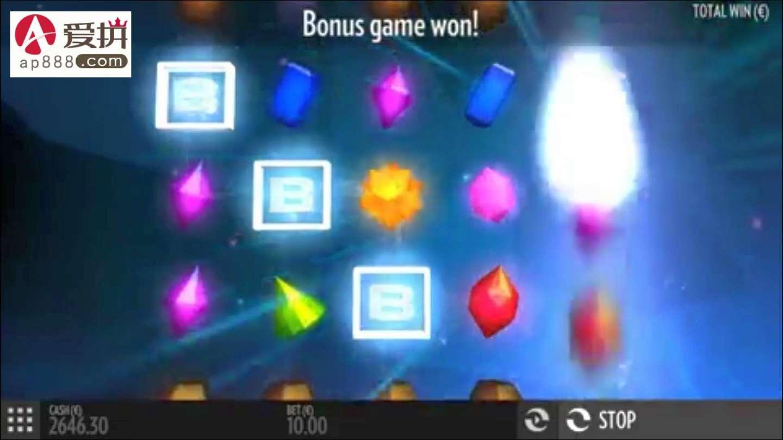 """爱拼ap888专业分享-""""水晶宝藏"""" 超好玩老虎机赢钱小游戏"""