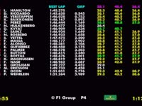 F1新加坡站FP2(数据)全场回放
