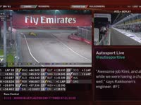 F1新加坡站正赛(维修站)全场回放