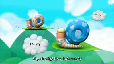 逗逗迪迪爱唱歌 第三季 第14集《蜗牛的梦想》