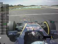 F1马来西亚站FP2 霍肯伯格回复车队赛车转向不足
