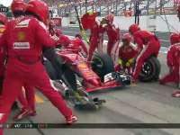 F1日本站正赛:维特尔换软胎被汉密尔顿undercut