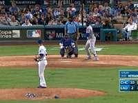MLB季后赛 芝加哥小熊vs洛杉矶道奇G4 全场录播(英文)