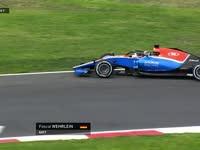F1墨西哥站FP1:维尔莱茵迷路冲上草地