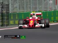 宝宝要尿尿!F1墨西哥站排位赛Q2:维特尔问成绩