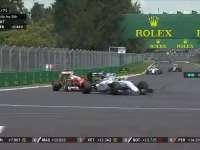 F1墨西哥站正赛维特尔TR:威队直道好快超不过呀!