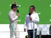 F1墨西哥站正赛赛后采访