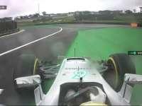 F1巴西站FP3:汉密尔顿率先搭载干胎出场