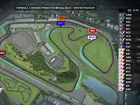 F1巴西站排位赛全场回放(GPS跟踪)