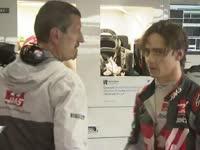 F1巴西站正赛:古铁雷兹P房发脾气被领队一把拉住