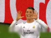 这防守反击太骚!皇马客场4-0拜仁C罗翻掌庆祝