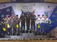 WEC巴林六小时耐力赛 LMP2组颁奖