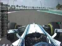 F1阿布扎比站FP1 博塔斯抱怨赛车刹车问题