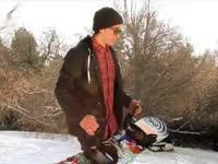 只要雪季不要趴 单板高级教学之在斜杆上做FS5050