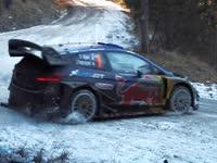太TM滑了!WRC车手过结冰弯道你行你上
