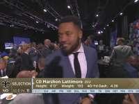 NFL2017选秀大会第11顺位 马绍恩-拉提摩尔(圣徒)
