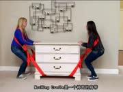 这个搬家神器,让妹子也能轻松搬动重物