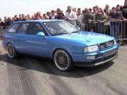 老车也疯狂 800马奥迪S2秀强悍性能