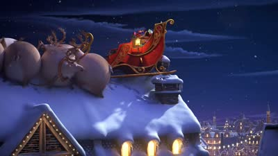 肥版国家地理 麋鹿 圣诞篇