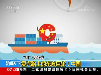 """[视频]""""画""""说金砖 复兴路上的东方巨轮:中国"""