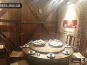 福泰厨具,铁锅炖转桌,铁锅炖桌子,铁锅炖一体桌,铁锅炖灶台2